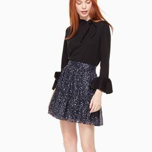 Kate Spade  Silk Skirt, Size 8, New with Tag